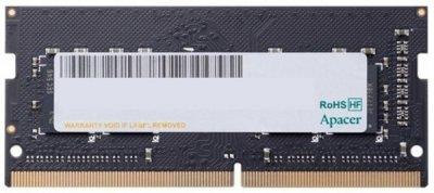 Пам'ять SoDDR4 16GB Apacer 2400MHz PC4-19200 (ES.16G2T.GFH)