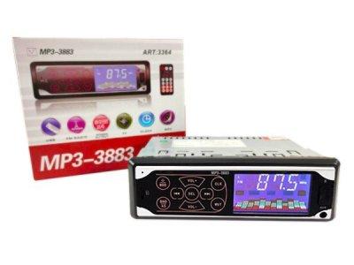 Автомобильная магнитола UKC ISO MP3-3883 автомагнитола с сенсорными кнопками