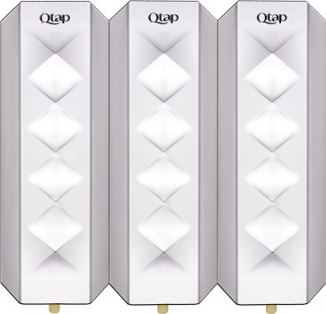 Дозатор для рідкого мила Qtap Davcovac mydla DM350CP3