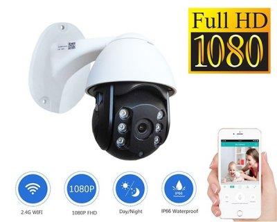Уличная IP камера видеонаблюдения UKC CAMERA CAD 19HS WIFI IP 360/90 2.0mp поворотная с удаленным доступом