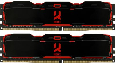 Оперативная память Goodram DDR4-3200 16384MB PC4-25600 (Kit of 2x8192) IRDM X (IR-X3200D464L16SA/16GDC)