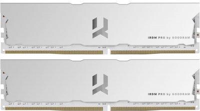 Оперативная память Goodram DDR4-4000 16384MB PC4-32000 (Kit of 2x8192) IRDM Pro Hollow White (IRP-W4000D4V64L18S/16GDC)
