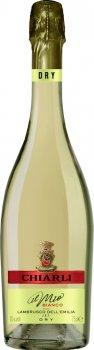 Вино игристое Chiarli Lambrusco белое сухое 0.75 л 10% (8003325607505)
