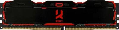 Оперативна пам'ять GoodRam DDR4 16GB 3200MHz IRDM X BLACK (IR-X3200D464L16A/16G) (6687845)
