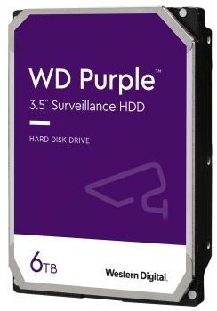 Жорсткий диск Western Digital Purple 6TB (WD62PURZ) 5400rpm, 128MB (6688869)