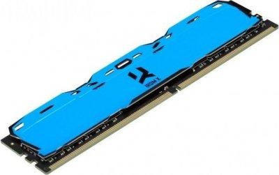 Оперативна пам'ять GoodRam DDR4 8GB 3200MHz IRDM X BLUE (IR-XB3200D464L16SA/8G) (6687837)