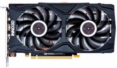 Видеокарта Inno3D, GeForce RTX 2060, TWIN X2, 6Gb GDDR6, 192-bit, HDMI/3xDP, 1680/14000 MHz, 8-pin (N20602-06D6-1710VA15L)