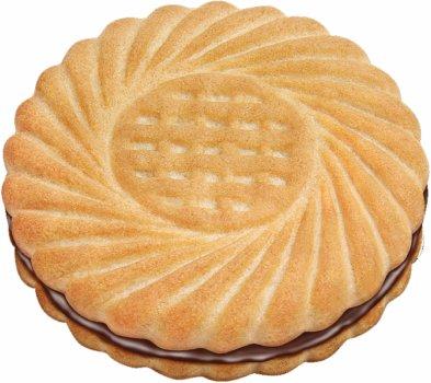 Печенье Диканське Наслаждение с шоколадно-ореховой начинкой 1.8 кг (4820108962026)