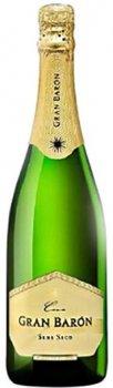 Вино игристое Gran Baron Cava Semi-seco белое сухое 0.75 л 11.5% (8413216001150)