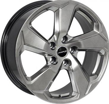Zorat Wheels ZF-QC5190 HB R17 W7.5 PCD5x114.3 ET35 DIA60.1 Hyper Black