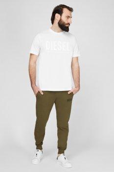 Чоловічі зелені спортивні штани P-TARY-LOGO Diesel 00SZLB 0BAWT