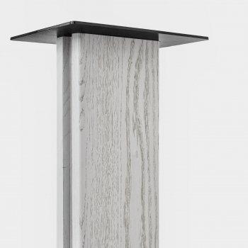 Дерев'яна яні стійки під акустику ADLUX BASE SS-1 WhWh ясний (вставка біла)