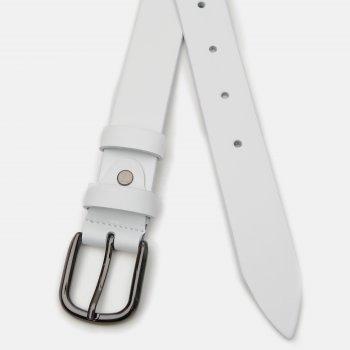 Ремень кожаный Laras v10110GX27 Белый (ROZ6400034987)