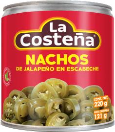 Маринованный перец La Costena Халапеньо 220 г (7501017005062)