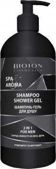 Шампунь-гель для душа 2 в 1 Bioton Cosmetics Spa&Aroma для мужчин 750 мл (4820026153308)