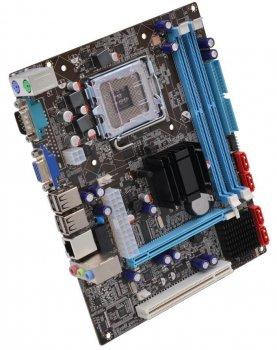 Материнская плата AFOX IG41-MA7 (s775, Intel G41 + Intel ICH7, PCI-Ex16)