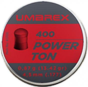 Свинцовые пули Umarex Power Ton 0.87 г калибр 4.5 (.177) 400 шт (4.1706)
