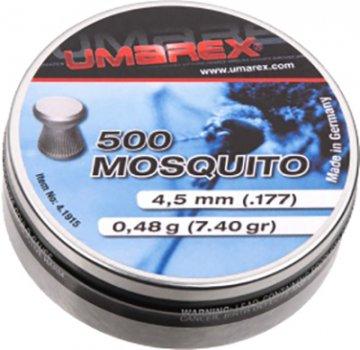 Свинцовые пули Umarex Mosquito 0.48 г калибр 4.5 (.177) 500 шт (4.1915)