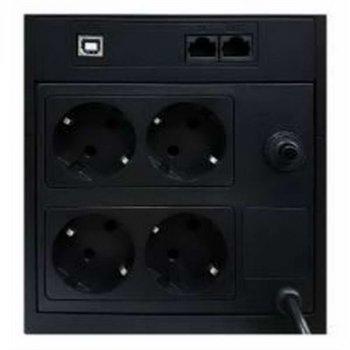 ДБЖ Powercom RPT-2000AP, 4 x євро, USB (00210194)