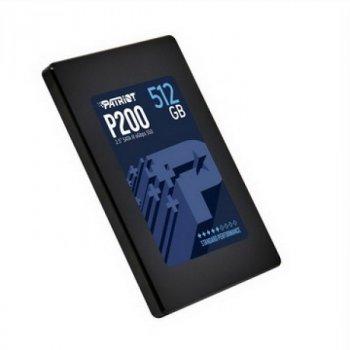 """SSD 512GB Patriot P200 2.5"""" SATAIII TLC (P200S512G25)"""