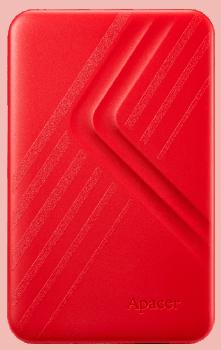 Зовнішній жорстку диск APACER AC236 2TB USB3.1 Red (AP2TBAC236R-1)
