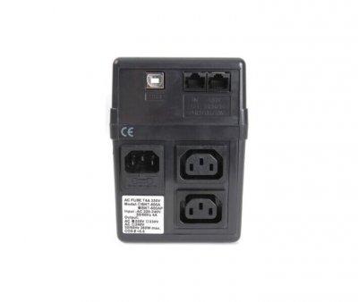 Пристрій безперебійного живлення Powercom BNT-600AP USB (00210085)