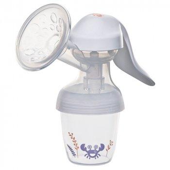 Ручний молоковідсмоктувач Nip, Перші моменти + пляшечка, 150 мл (37601)