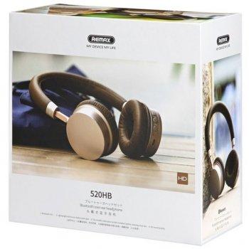 Навушники бездротові Remax RB-520HB gold