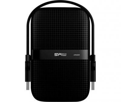 Жорсткий диск Silicon Power Armor A60 1TB SP010TBPHDA60S3A 2.5 USB 3.2 External Black