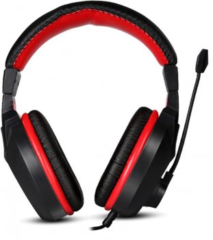 Навушники Marvo H8321P Black-Red