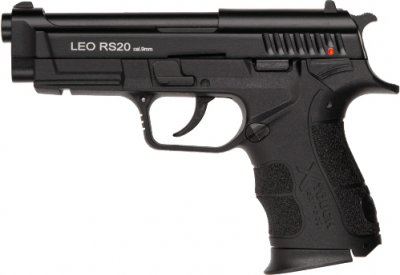 """Пістолет сигнальний Carrera Arms """"Leo"""" RS20 Black (1003403)"""