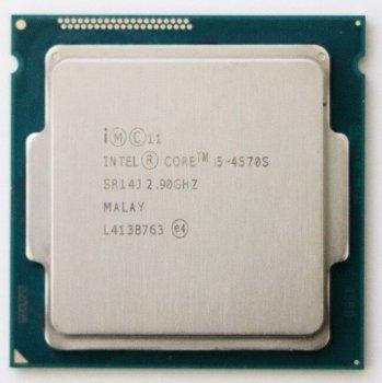 Процессор Intel Core i5-4570S (S1150/2.9GHz/5GT/s/6MB) LGA 1150 Б/У