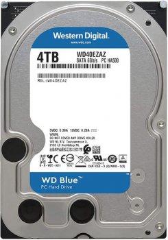 """Жосткий диск 3.5"""" Sata III HDD 4Tb WD WD40EZAZ Blue"""