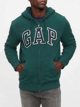 Толстовка Gap 156215954 Зелена