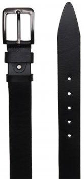 Мужской кожаный ремень Laras VN-GEN4R-125x3 Черный (ROZ6206113811)