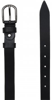 Женский кожаный ремень Laras VN-GEN25W-100x3 Черный (ROZ6206113816)