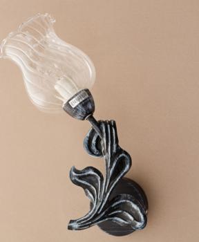 Бра в форме цветка с стеклянным плафоном (NN002/1W) (SL00500)