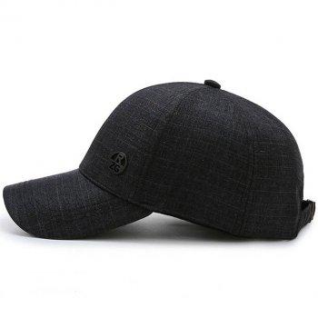 Мужская осенняя кепка Narason 5663 57-60 цвет темно-синий