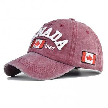 Стильная мужская кепка Narason 6445 57-60 цвет розовый