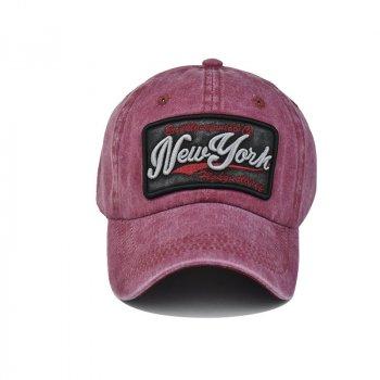 Мужская кепка Narason 6954 57-60 цвет бордовый