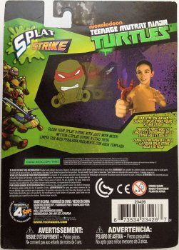 Рогатка со снарядами из Черепашек Ниндзя Nickelodeon - Splat Strike, Tmnt, Tech4Kids - 143398