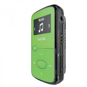 MP3 плеер SanDisk Sansa Clip JAM 8GB Green