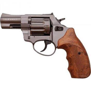 Револьвер под патрон Флобера STALKER Titanium 2.5'' коричн. рук.