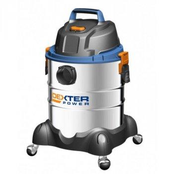 Пылесос промышленный для сухой/влажной уборки DEXTER 20 л 1400 Вт