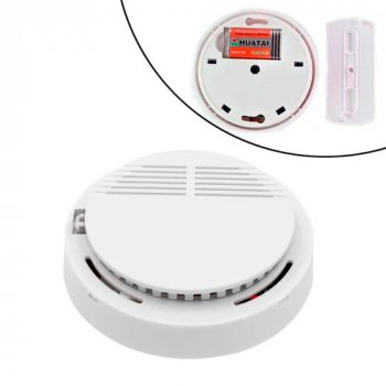 Датчик дыма OEM беспроводной автономный, светозвуковая сигнализация 85дБ (116654)