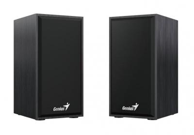 Компьютерная акустика 2.0 Genius SP-HF180, 3,5 мм, 2 x 3 Вт (31730029401) Black