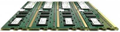 Комплект оперативной памяти Rendition DDR2 8Gb (4*2Gb) 800MHz 6400U 2R8 CL6 (RM25664AA800.16FE) Б/У