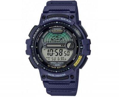 Чоловічі годинники Casio WS-1200H-2AVCF для риболовлі