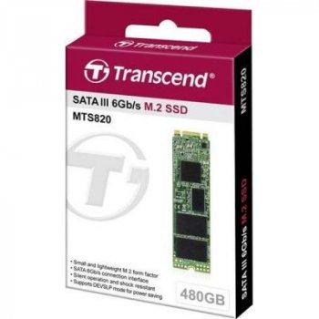 Накопитель SSD M.2 2280 480GB Transcend (TS480GMTS820S)