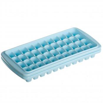 Форма для льда STENSON 44 ячейки Голубой 25х11 см